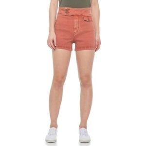 Free People Copper Retro Shorts NWT